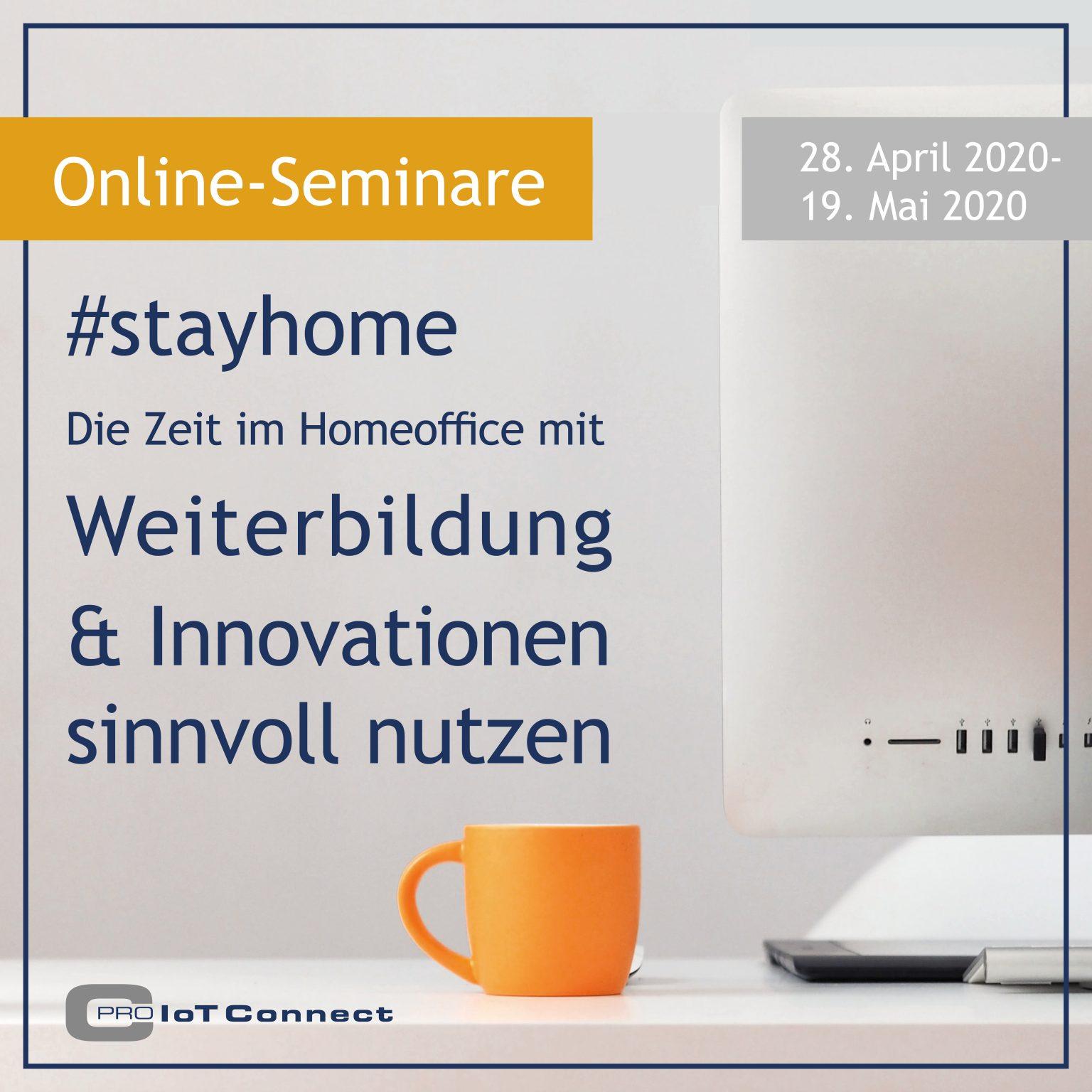 Start Webinar Reihe