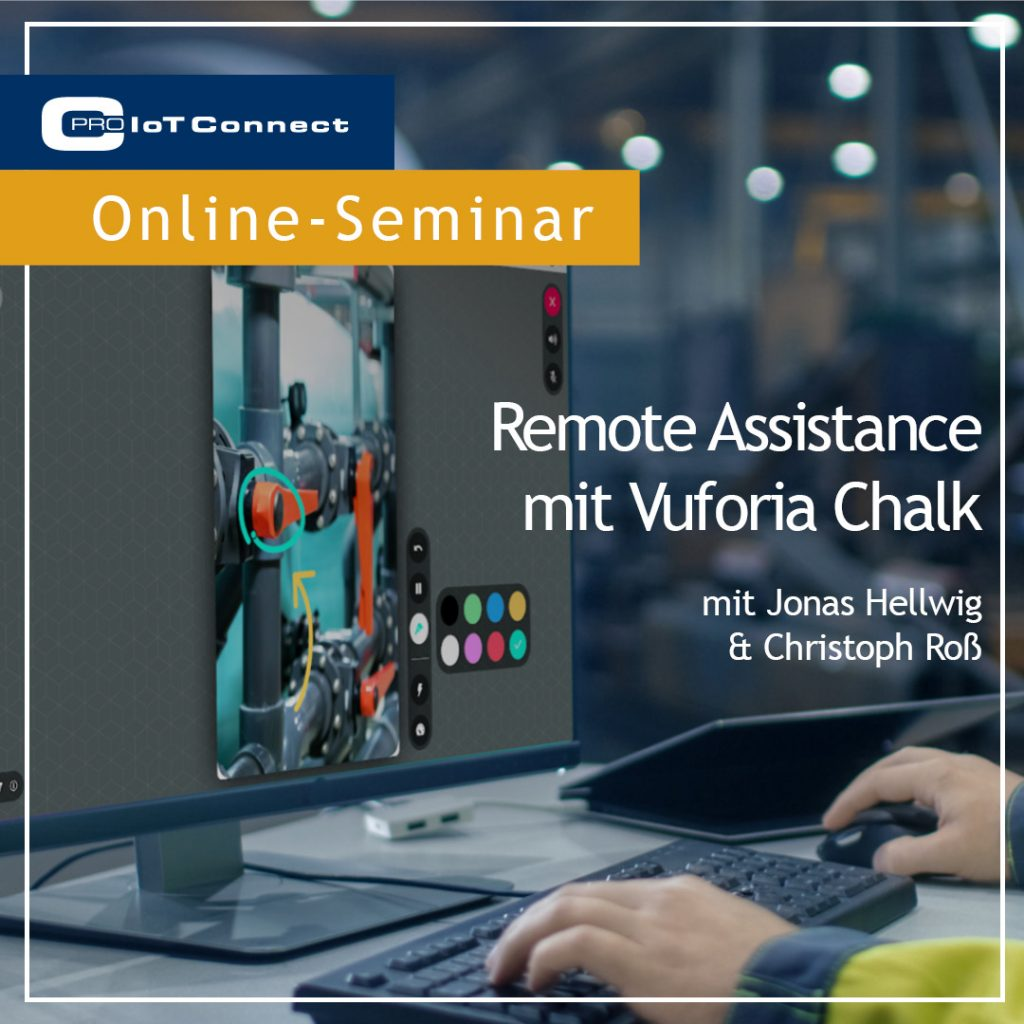 Remote Assistance mit Vuforia Chalk