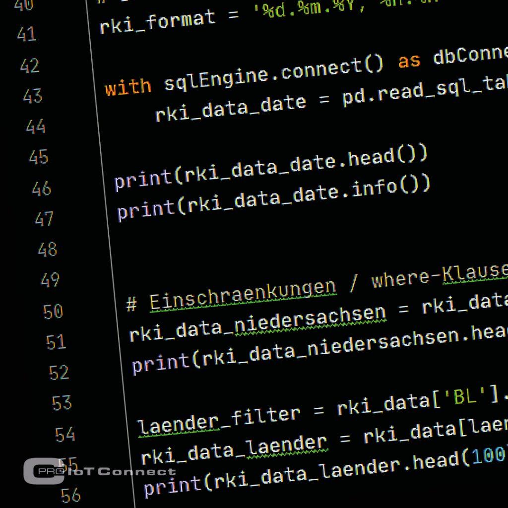 Daten verarbeiten mit Python