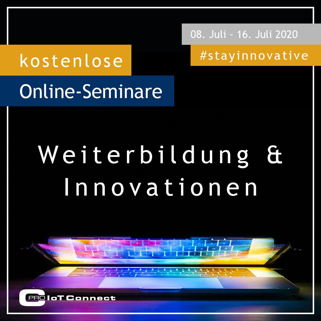 Online-Seminar - Weiterbildung & Innovation