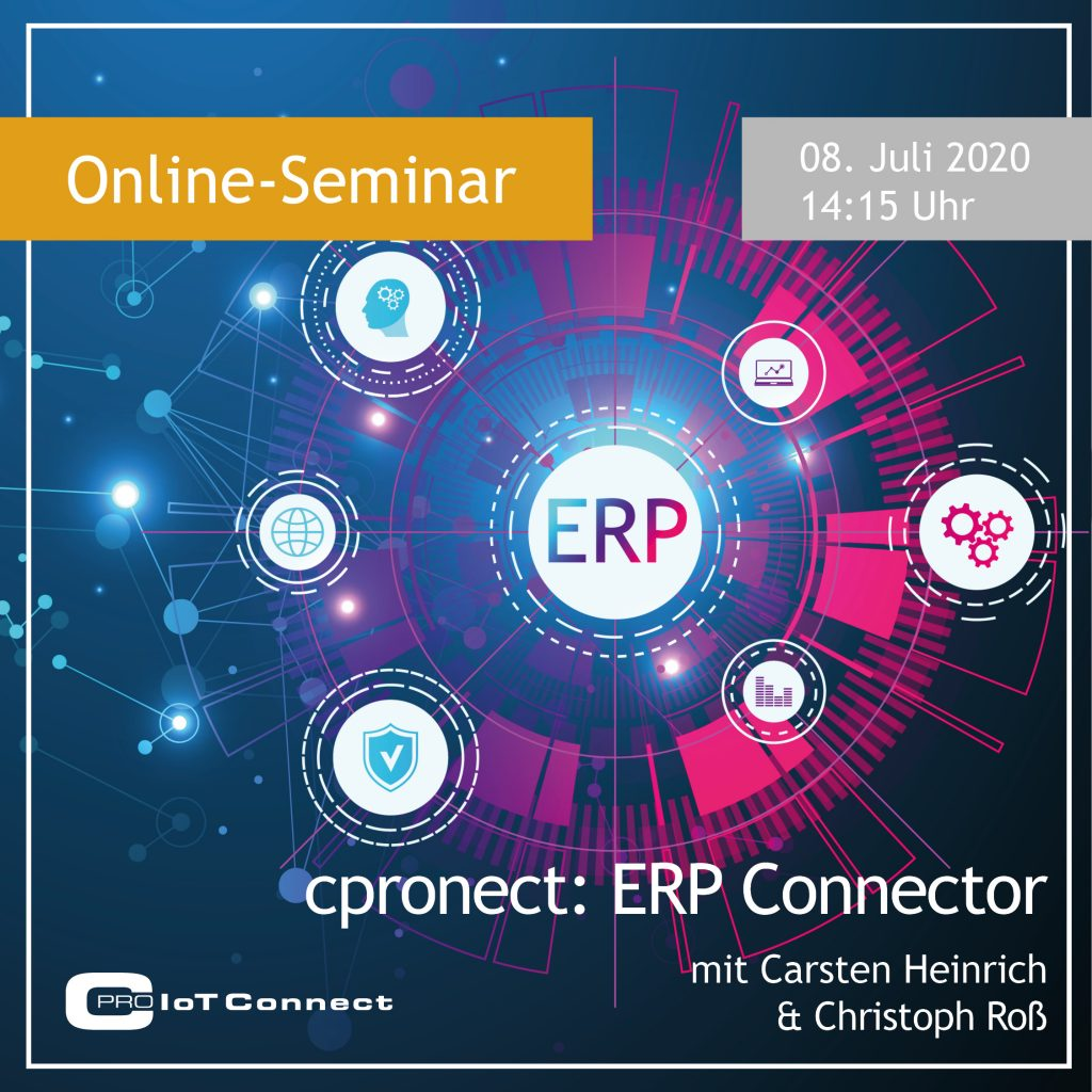 Online-Seminar - cpronect: ERP Connector