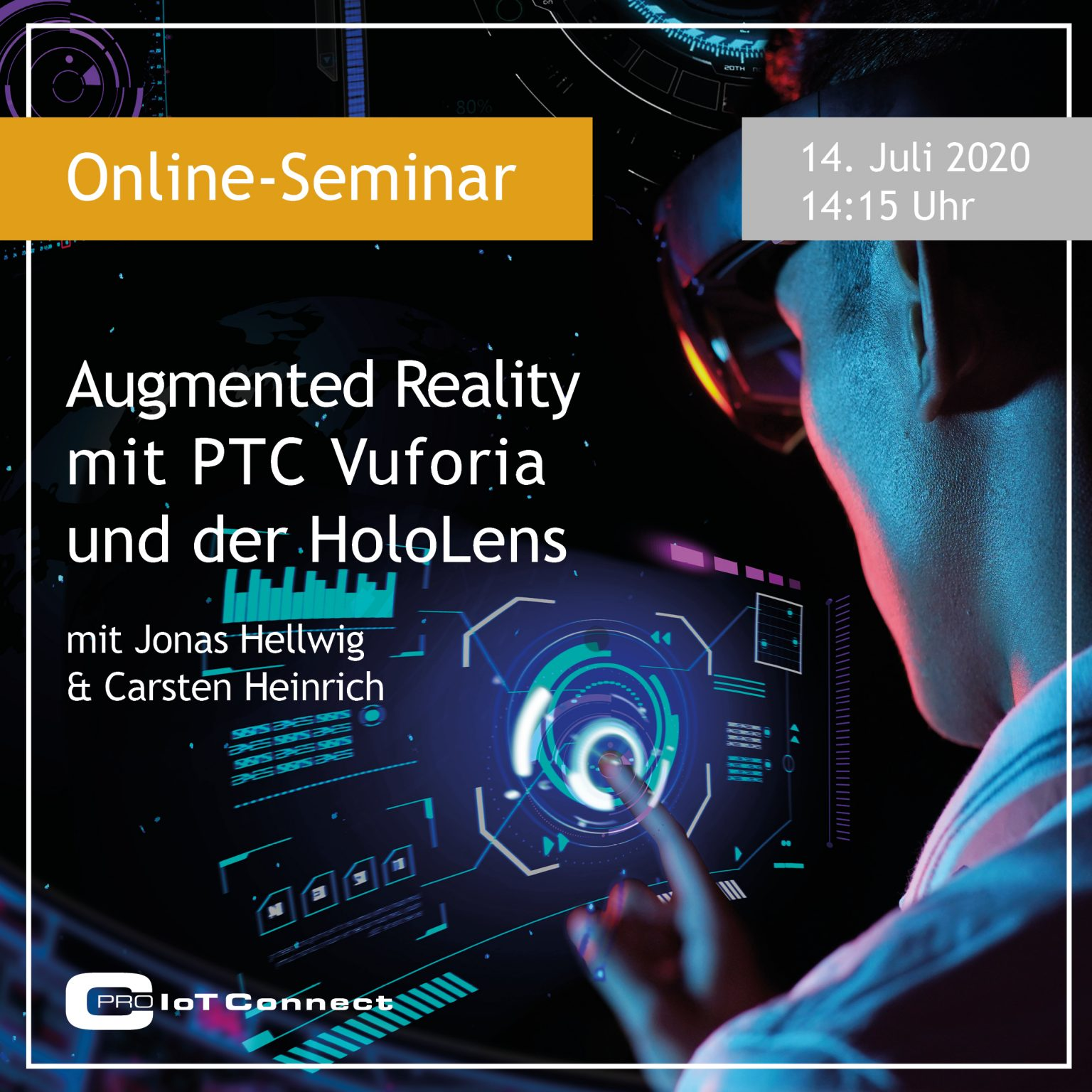 Online-Seminar - Augmented Reality mit PTC Vuforia und der HoloLens