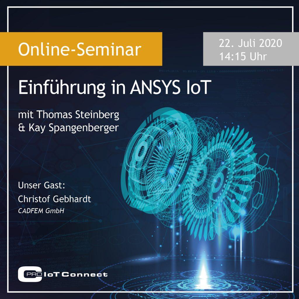 Online-Seminar - Einführung in Ansys IoT